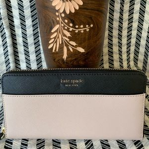New Kate Spade Cameron Large Continental wallet